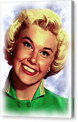 Doris Day Canvas Print by Paul Quarry