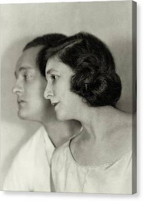 Doris Canvas Print - Doris Keane And Basil Sydney by Nickolas Muray