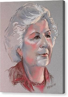 Doris Canvas Print by Peggy Wrobleski