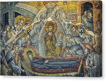 Dormition Of The Virgin Canvas Print