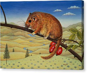 Dormouse Number Two, 1994 Canvas Print
