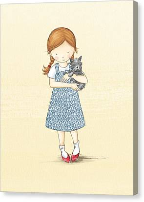 Dorothy Canvas Print by Amanda Francey