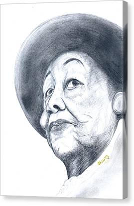 Dorothy Height Canvas Print