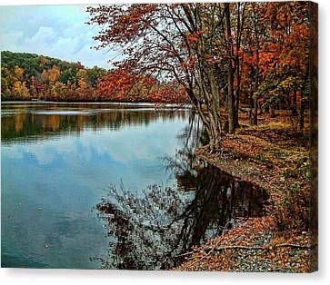 Dorothy Pond Millbury Ma Canvas Print by Mike McCool