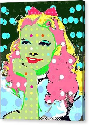 Dorothy Canvas Print by Ricky Sencion
