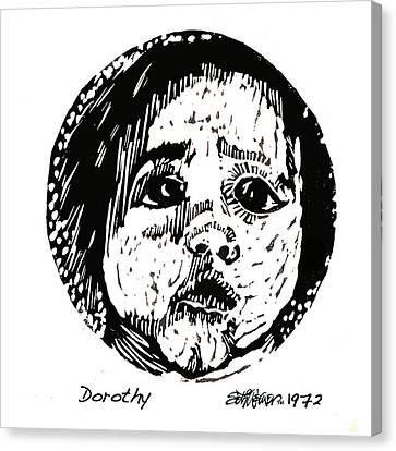 Dorothy Canvas Print