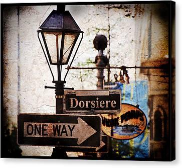 Dorsiere Canvas Print by Ray Devlin