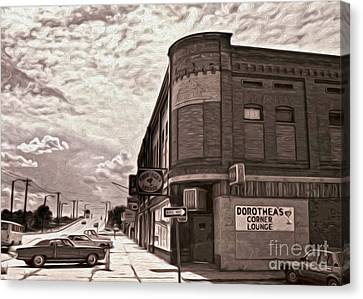 Dorthea's Corner Lounge Canvas Print by Gregory Dyer