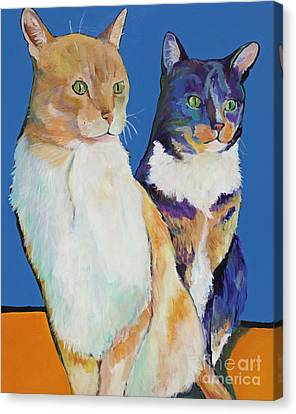 Dos Amores Canvas Print by Pat Saunders-White