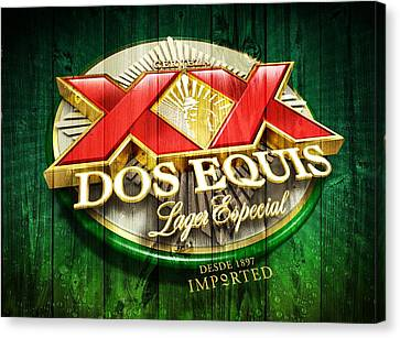 Dos Equis Barn Canvas Print by Dan Sproul