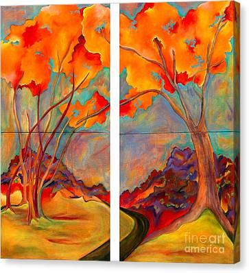 Double Arbor Canvas Print
