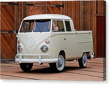 Double Cab Canvas Print by Peter Tellone
