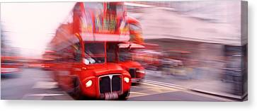 Double Decker Bus, London, England Canvas Print