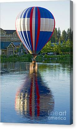 Canvas Print featuring the photograph Double Dipping by Nick  Boren