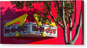 Double Double With Cheese Animal Style Yum Canvas Print by Scott Campbell