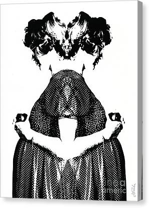 Canvas Print featuring the photograph Double Entendre by Jessie Parker