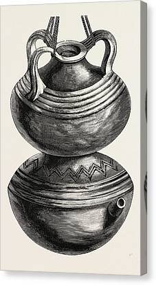 Double Gourd Water Jar Canvas Print by English School