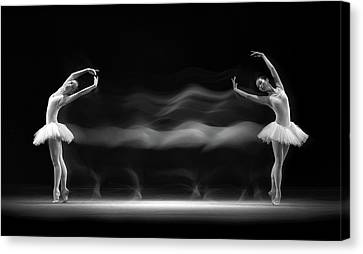 Double Pose Canvas Print