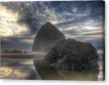 Double Rock Canvas Print