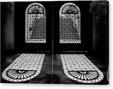 Double Shade Canvas Print