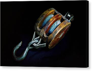 Hook Block Or Pully Block - Nautical Canvas Print
