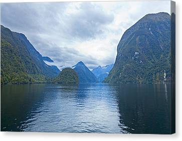 Doubtful Sound Reflections Canvas Print by Alexey Stiop
