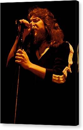 Doug Gray Of The Marshall Tucker Band At The Cow Palace Canvas Print