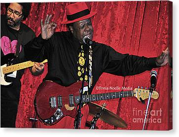 Doug Lewis And Norman Sylvester Canvas Print by Tonia Noelle