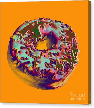 Doughnut Canvas Print by Jean luc Comperat