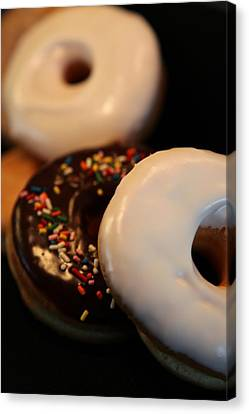 Doughnut Roll Canvas Print by Karen Wiles