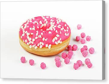 Doughnut Canvas Print by Wladimir Bulgar