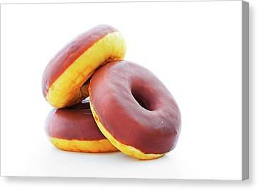 Doughnuts Canvas Print by Wladimir Bulgar