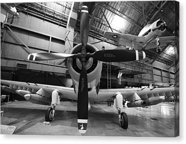Douglas A1 Skyraider Canvas Print