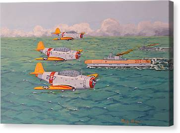 Douglas Devastators Canvas Print