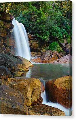 Douglas Falls Canvas Print by Tyson and Kathy Smith