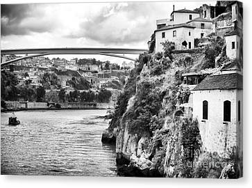 Douro River Landscape Canvas Print by John Rizzuto