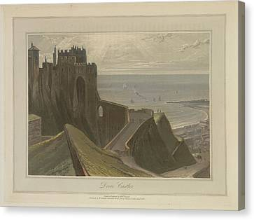 Dover Castle Canvas Print by British Library