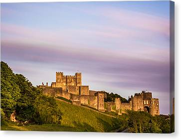 Dover Castle Sunset 3 Canvas Print by Ian Hufton