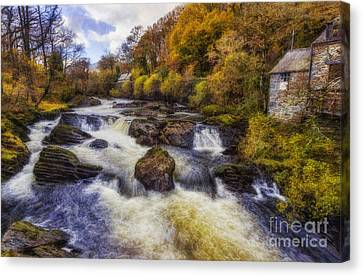 Lush Colors Canvas Print - Down By The River by Ian Mitchell