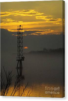 Canvas Print featuring the photograph Down By The River by Robyn King