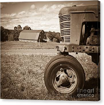 Down On The Farm Canvas Print by Edward Fielding