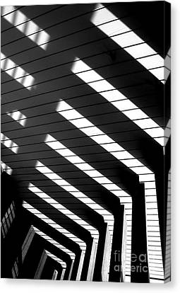 Down Stairs Canvas Print by Robert Riordan