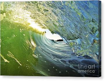 Down The Barrel Canvas Print by Paul Topp