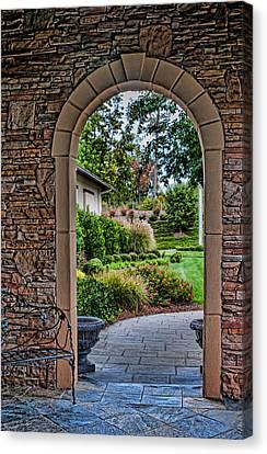 Down The Garden Path Canvas Print