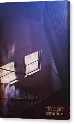 Down The Stairs Canvas Print