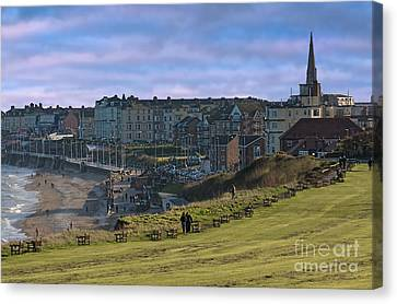 Down To The Sea Canvas Print by David  Hollingworth