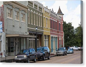 Downtown Abbevile Louisiana Canvas Print