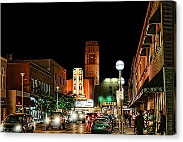 Downtown Ann Arbor Canvas Print