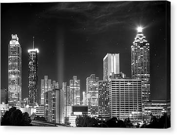 Downtown Atlanta Skyline Canvas Print