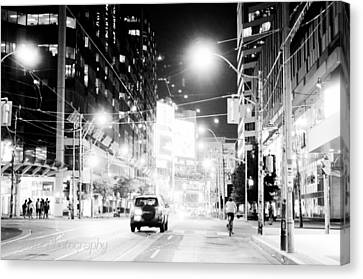 Downtown Canvas Print by BandC  Photography